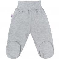 Dojčenské polodupačky New Baby Classic II sivé NEW BABY