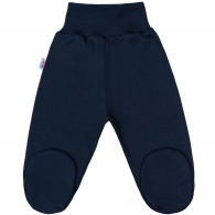 Dojčenské polodupačky New Baby Classic II tmavo modré NEW BABY