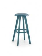 Barová židle H-77 tyrkysová