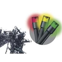 EMOS 120 LED dekor. řetěz 12M multicolor, časovač  *ZY0813T